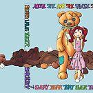 Teddy Bear Smackdown by ninamarie