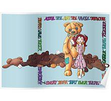 Teddy Bear Smackdown Poster