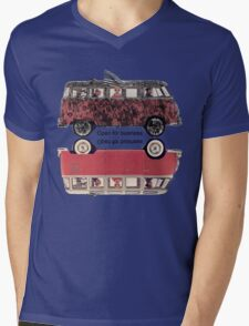MIRROR DUB Mens V-Neck T-Shirt