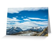 The Majestic Rockies Greeting Card