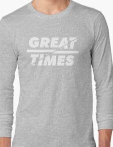 Great times flat logo. Long Sleeve T-Shirt
