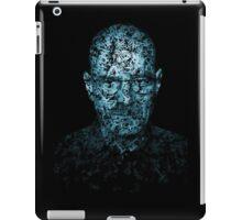 Walter White Typographic Portrait iPad Case/Skin
