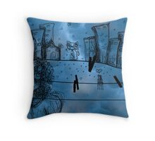 Algodones now are gone Throw Pillow