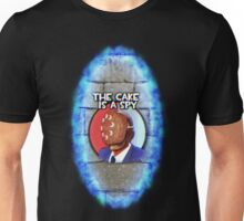 The Cake Is... A Spy?!? Unisex T-Shirt