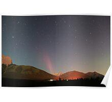 Jetting Aurora Borealis Poster