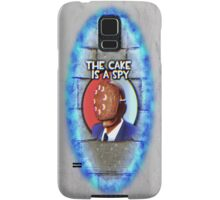 The Cake Is... A Spy?!? Samsung Galaxy Case/Skin