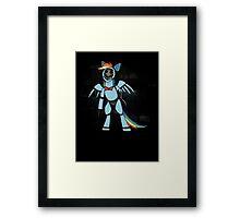 My Little Pony - MLP - FNAF - Rainbow Dash Animatronic Framed Print