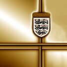 England Football / Soccer gold edition by ALIANATOR