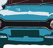 Ford Escort MK1 by Anthony  Poynton