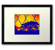 Wire Tree Afternoon Framed Print
