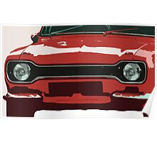 Ford Escort MK1 Poster