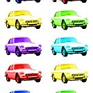 MGB GT Sports Cars by ImageMonkey