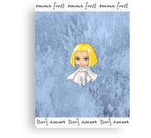Chibi Emma Frost Canvas Print
