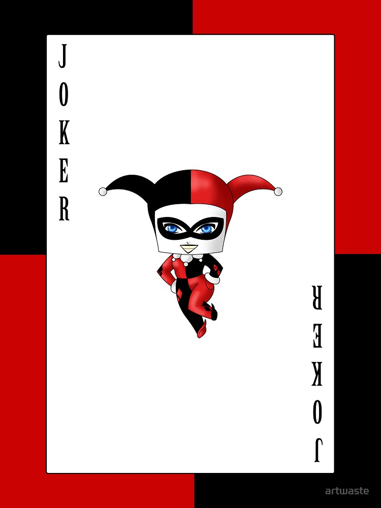 Chibi Harley Quinn by artwaste