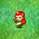 Chibi Poison Ivy by artwaste