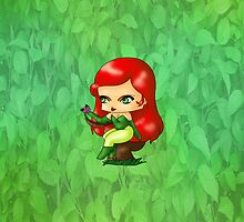 Chibi Poison Ivy by artwaste