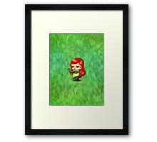 Chibi Poison Ivy Framed Print