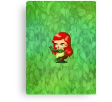 Chibi Poison Ivy Canvas Print