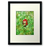 Chibi Poison Ivy 2 Framed Print