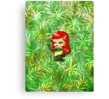 Chibi Poison Ivy 2 Canvas Print