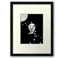 Chibi Silver Banshee Framed Print