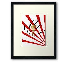 Chibi Lady Deathstryke Framed Print