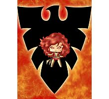Chibi Dark Phoenix Photographic Print