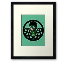Chibi Viper Framed Print