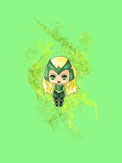 Chibi Enchantress by artwaste