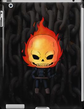 Chibi Ghost Rider by artwaste