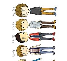 one direction  by isabellalol