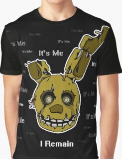 Five Nights at Freddy's - FNAF 3 - Springtrap - It's Me Graphic T-Shirt