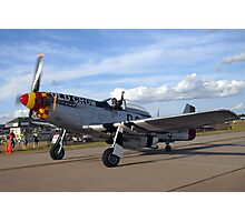 Mustang Old Crow Photographic Print