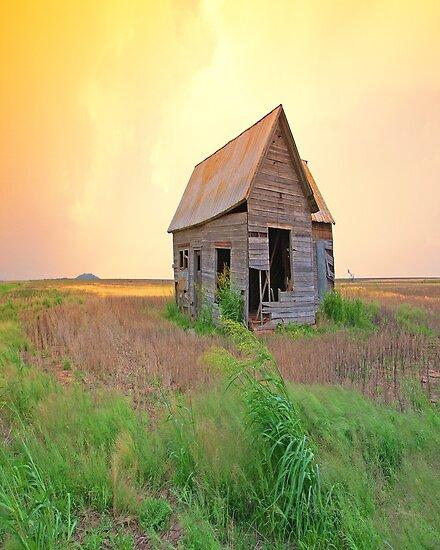 Sunset On The Land,......Oklahoma by JohnDSmith