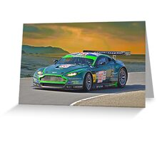 2007 Aston-Martin DB9 I Greeting Card
