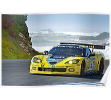 2007 Corvette Racing Poster
