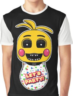 Five Nights at Freddy's - FNAF 2 -Toy Chica Graphic T-Shirt