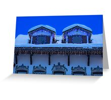 Christmas in Leavenworth at Twilight Greeting Card