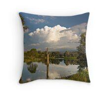 Mindin Lake Throw Pillow