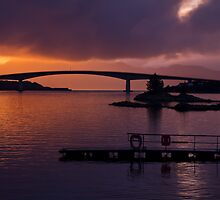 Skye Bridge, Kyle of Lochalsh by Gabor Pozsgai