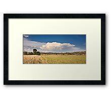 Toogoolawah Plains Framed Print