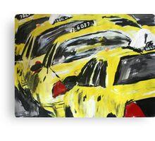 New York Taxis - Wall Art Canvas Print