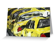 New York Taxis - Wall Art Greeting Card