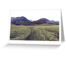 Ennerdale in the Lake District National Park, UK Greeting Card