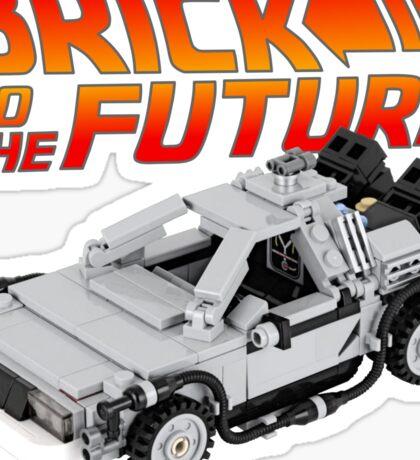 Brick To The Future Sticker