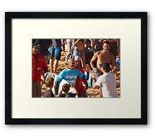 Kelly Slater Fans Framed Print