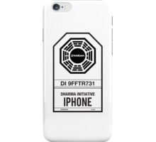DHARMA Initiative iPhone iPhone Case/Skin
