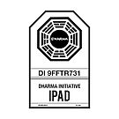 DHARMA Initiative iPad by William Thieme