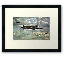 Spitfire Squadron Framed Print