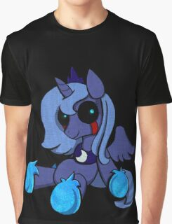 My Little Pony - MLP - FNAF - Princess Luna Plush Graphic T-Shirt